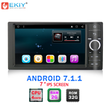 "EKIY 7"" 2 Din Android 7.1 Car DVD Player for TOYOTA Corolla Quad Core Car Stereo Radio Audio Music Multimedia Navigation System"