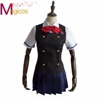 Anime Another Misaki Mei Akazawa Izumi School Uniform Dress Cosplay Costume Custom Made