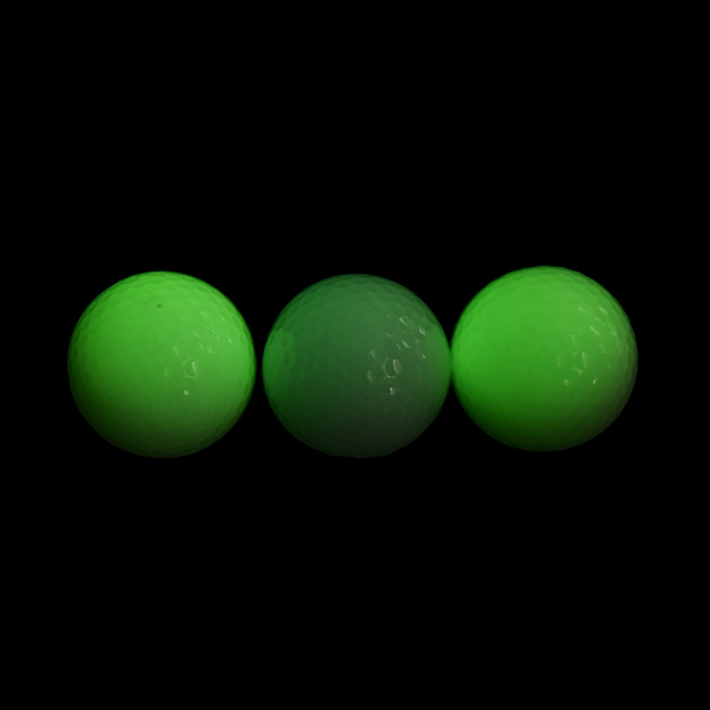 1Pc New Light-up Flashing Night Light Glowing Fluorescence Golf Balls Golfing Wholesale