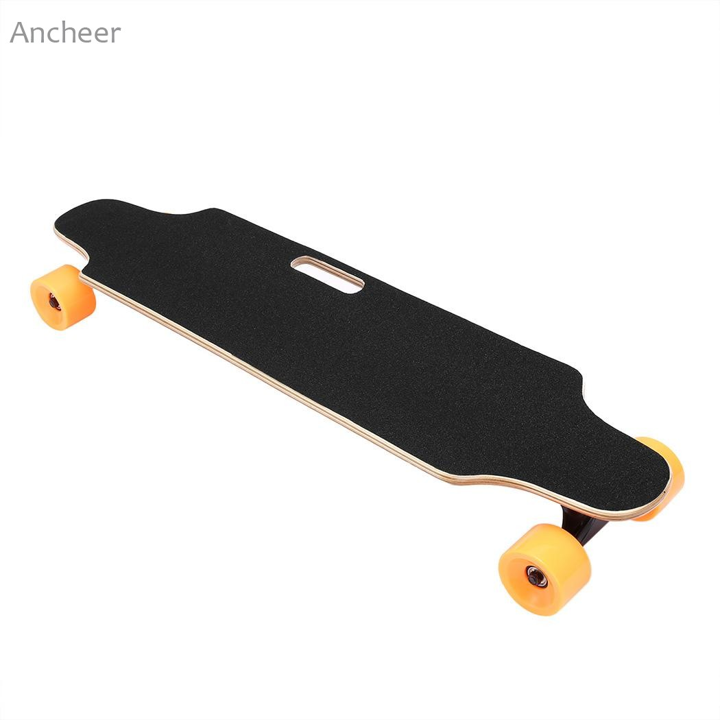 Electric Skateboard Longboard with Remote Controller Four Wheels Electric Scooter Gyroscoot Scooter Overboard Unicycle no tax to eu ru four wheel electric skateboard dual motor 1650w 11000mah electric longboard hoverboard scooter oxboard