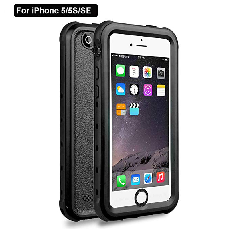Redpepper Sealed Waterproof Case For iPhone 5 5S SE Shockproof case (7)