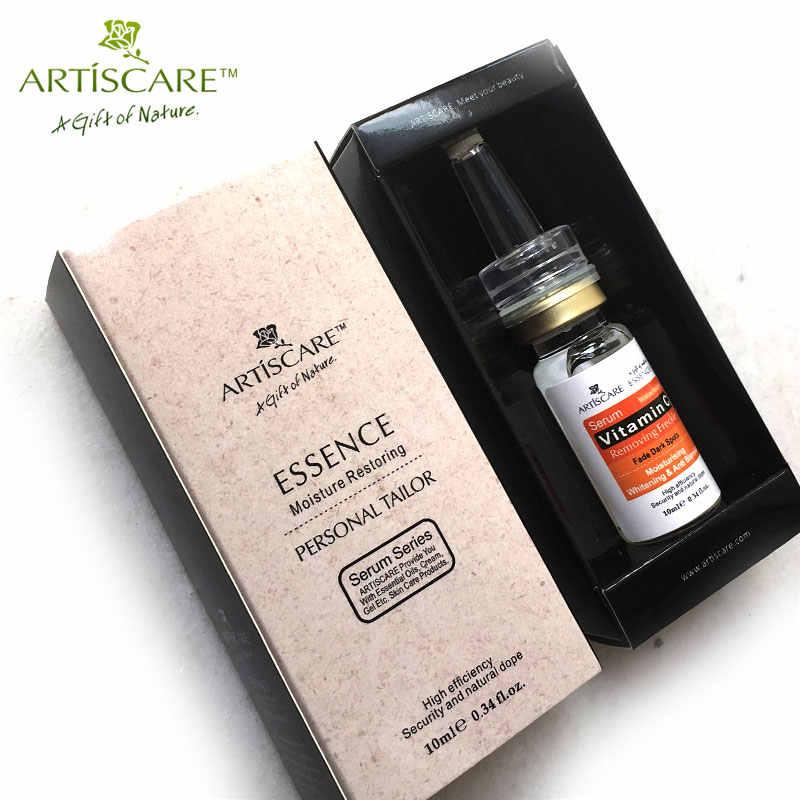 ARTISCARE Vitamin C Serum für Gesicht Pflege Anti Akne Narbe Entfernung Flecken Sommersprossen VC Essenz Hyaluronsäure Bleaching Gesichts Creme