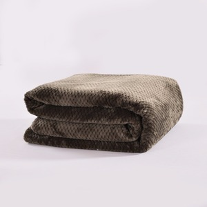Image 2 - CAMMITEVER Ananas Überprüfen Flanell Werfen Gute Qualität Home Textil Plaid Air Zimmer Herbst/Winter Verwenden Warme Weiche Bettlaken