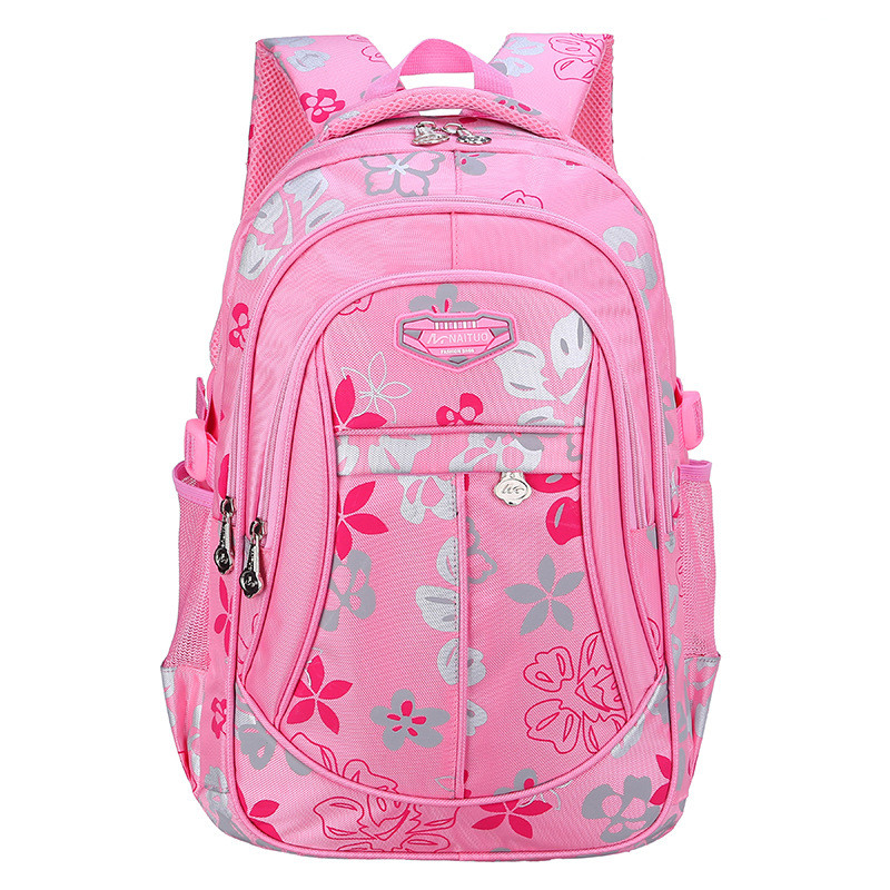 2017 New Fashion School Bags for Girls Brand Women Backpack Shoulder Bag Kids Backpacks 4 Colors plus size 2016 spring new school bags for girls designer brand women backpack korean style bookbag shoulder bag wholesale kids backpacks