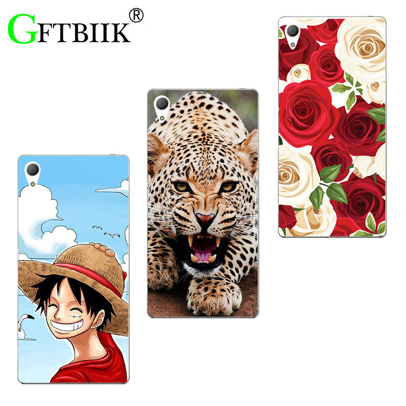 Super Cartoon Pattern Cover For Asus Zenfone 3 GO ZB501K 5.0 Asus Zenfone Live ZB501KL Case Painted Animal Game Shell Coque