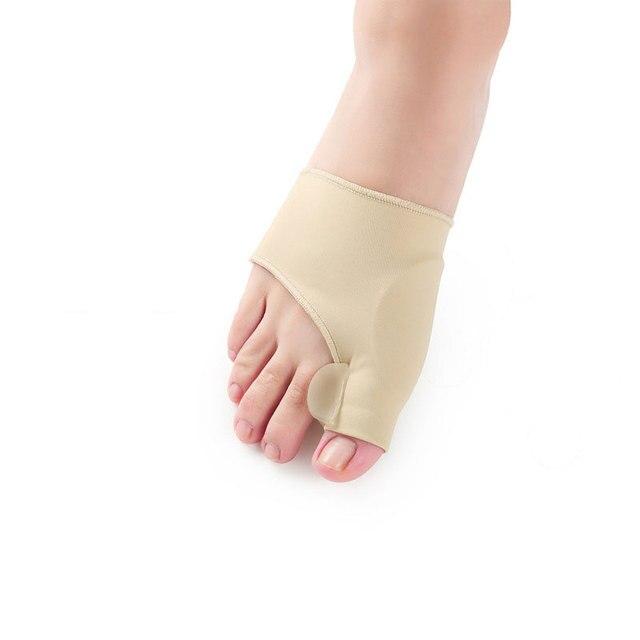 1Pair Bunion Socks Pain Relieve Hallux Valgus Device Foot Thumb Big Toe Separator Socks For Pedicure Orthopedic Correction Socks Body Care