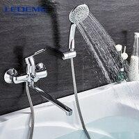 LEDEME 1 SET Bathroom Fixture Sets Faucets Set Bath Shower Tap Bathroom Shower Set Bathtub Faucet