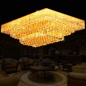 Traditional gold living room lights rectangle crystal lamp bedroom lamps led ceiling light 0077Traditional gold living room lights rectangle crystal lamp bedroom lamps led ceiling light 0077