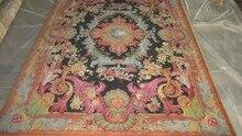 9'x12 שטיח צמר savonnerie