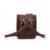 Cera de Petróleo Retro & Saco Da Cintura Fanny Viagem Dos Homens de Couro Crazy Horse pu pacote Cinto Loops Hip Bum Bag Bolsas Carteira Telefone Bolsa B73