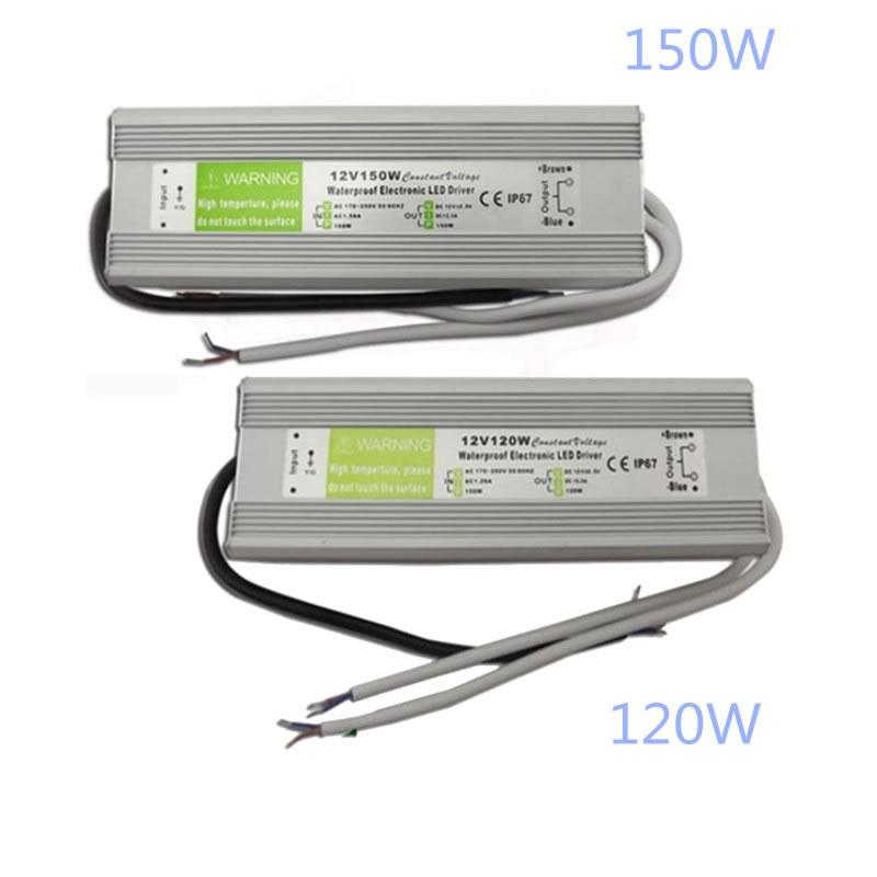 IP67 Waterproof LED Driver DC12V Lighting Transformers for Outdoor Lighs Power Supply 10W 20W 30W 45W 60W 100W 120W 150W led driver ac220v to dc 12v 10w 20w 30w 60w 100w 150w waterproof ip67 led power supply lighting transformers