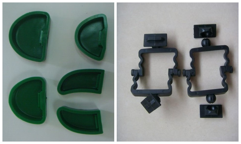 2 Sets Dental Plaster Smooth Model Base Moulds with 100Pcs Articulator ,Dental Lab material dental die stone cutting plaster model 220v only