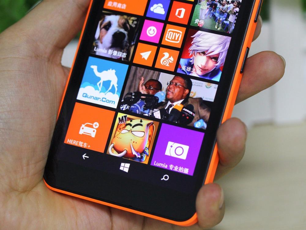 Refurbished Nokia Microsoft Lumia 640XL Quad-core 8GB ROM 1GB RAM 4G WIFI GPS 13MP 1080P smartphone dual sim card white 7
