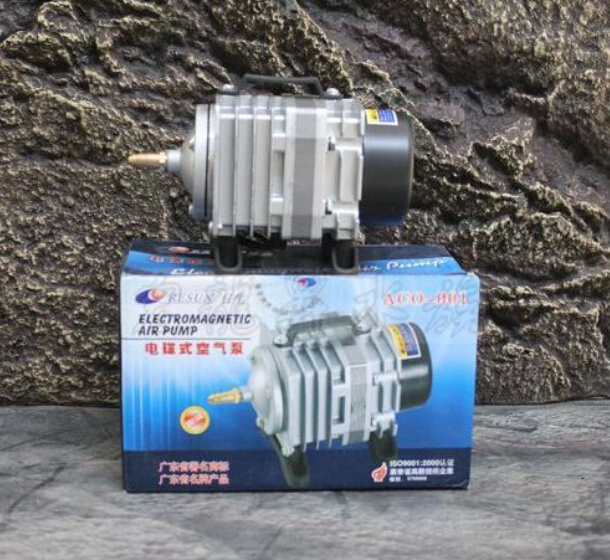 Resun High Quality18W 38L/mini Aquarium Fish Tank Pond Electromagnetic Air Compressor Pump New the lady in the lake level 2 cd