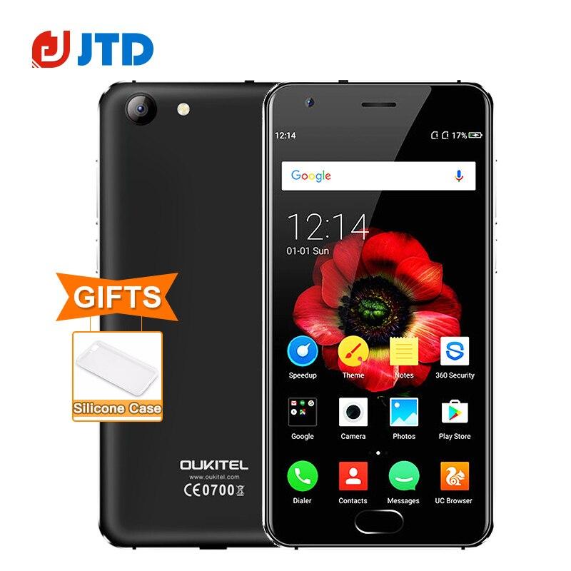 """bilder für Original Oukitel K4000 Plus 4G Smartphone MT6737 Quad Core 4100 mAh 5,0 """"IPS Android 6.0 2 GB RAM 16 GB 8MP Fingerabdruck Handy"""