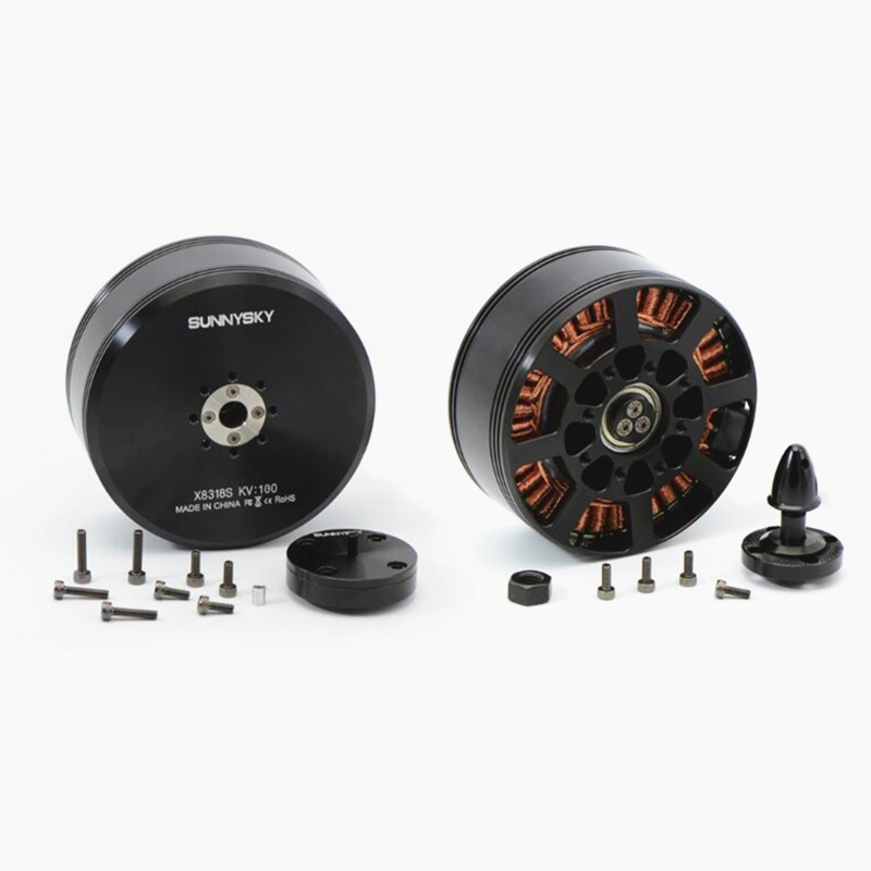 Original Sunnysky X8318S <font><b>100KV</b></font> 120KV <font><b>Brushless</b></font> <font><b>Motor</b></font> Multi-rotor <font><b>Motor</b></font> for Plant Protection Machine RC Drone image