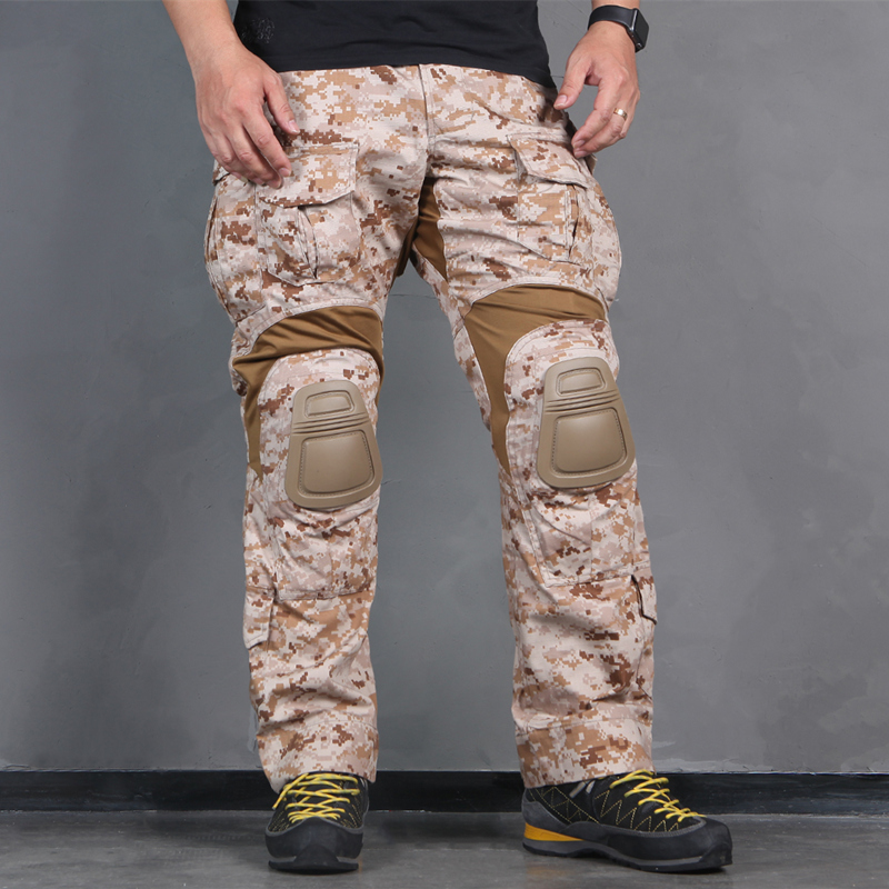 Emerson Tactical bdu G3 Combat Pants Emerson BDU Military Army Pants AOR1 with Knee pad