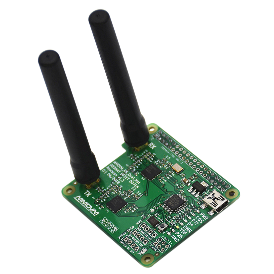 New MMDVM DUPLEX hotspot Support P25 DMR YSF NXDN DMR SLOT 1+ SLOT 2 for Raspberry piNew MMDVM DUPLEX hotspot Support P25 DMR YSF NXDN DMR SLOT 1+ SLOT 2 for Raspberry pi