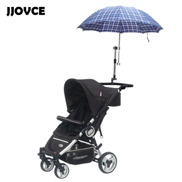 JJOVCE New Useful Umbrella Frame Infant Pram Umbrella Bar Holder ...