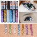 Maquillaje marca Waterproof Eye Liner Pencil Pen Shining Glitter Eye Lápiz Delineador Líquido Maquillaje Cosméticos Envío Libre M03051
