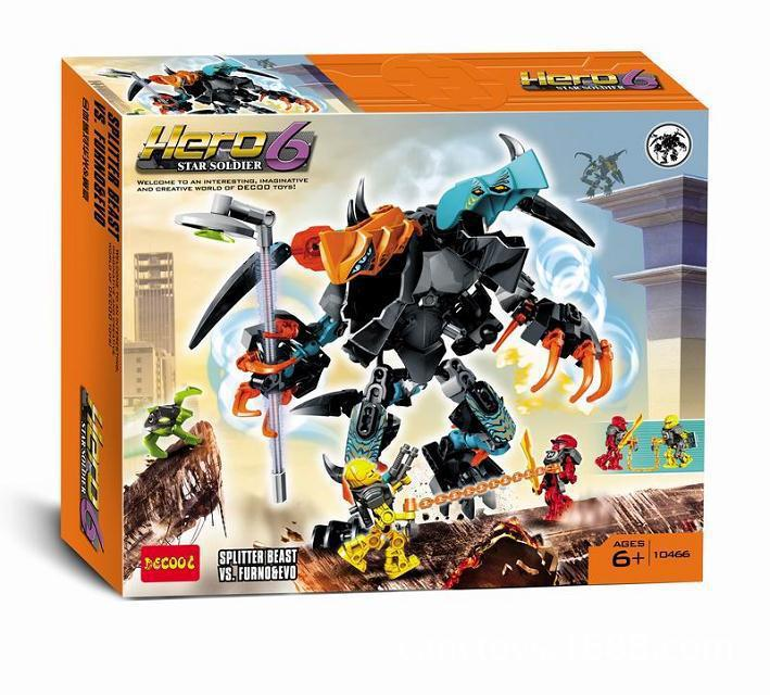 Model building kits compatible with lego Hero Factory pan arms 3D blocks Educational model building toys hobbies for children lepin 02012 city deepwater exploration vessel 60095 building blocks policeman toys children compatible with lego gift kid sets