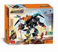 Xây dựng mô hình kits tương thích với lego hero nhà máy pan arms khối 3d giáo dục xây dựng mô hình đồ chơi sở thích cho trẻ em