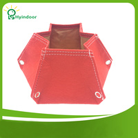 Hexagonal Polygon Fabric Pots Plant Felt Cloth Grow Bag