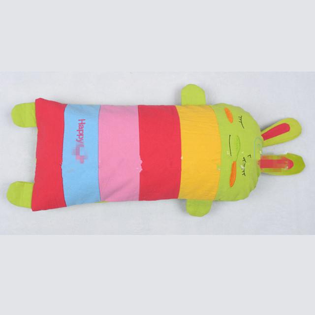 Bebê Moldar Travesseiro Trigo Mourisco de Alta Qualidade Natural E Saudável Chá Verde sementes de Cássia Padding Infantil Encantador Coelho Colorido Travesseiro