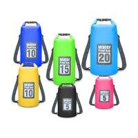 Открытый Портативный рафтинг водонепроницаемая сумка мешок для плавания Водонепроницаемый хранения речной Поход Сумки для каноэ-Рафтинг ...