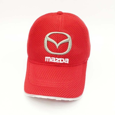 wholesale summer car mesh baseball cap racing cup leisure hat mazda hats miata mx 5