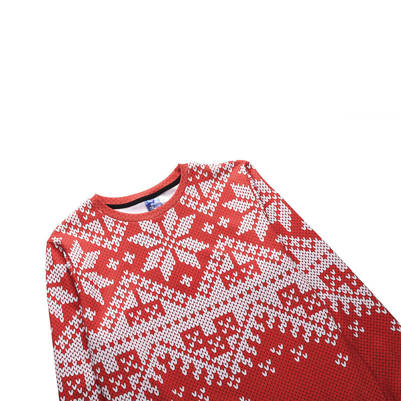 ee599ec8d5bb Funny Merry Christmas Pullover Sweatshirt Men Women Santa Claus Elk  Snowflake Print 2019 New Year Polyester 3d Hoodie Clothes