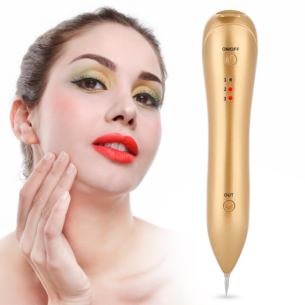 Us 7 55 36 Off Dark Spot Removal Pen Electric Face Anti Wrinkle Mole Freckle Three Levels Adjule Remover Aging Device In