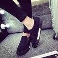 Черный Синий Мужчины Обувь 2016 Новые Мужские Повседневная Обувь с низким верха Обуви холст Молнии дизайнеры Плоские Туфли Soild цвет zapatos XX224