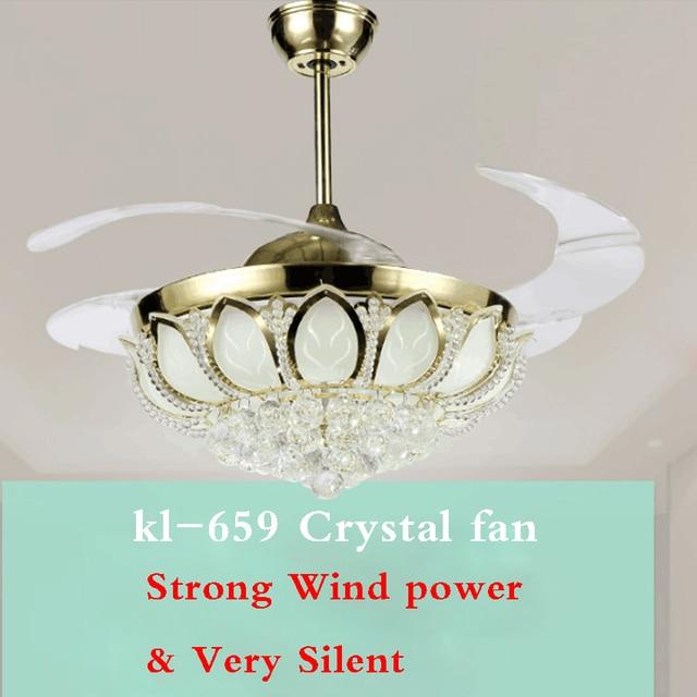 kl 659 42 Inch Ceiling Fan Household Fan Lamp European Modern Simple ...