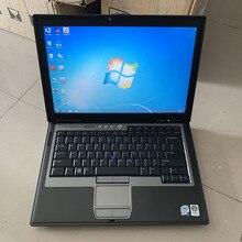 Auto diagnose laptop für dell d630 computer verwendet ram 4g mit batterie ohne festplatte arbeitet für mb star c3 c4 c5 für bmw icom