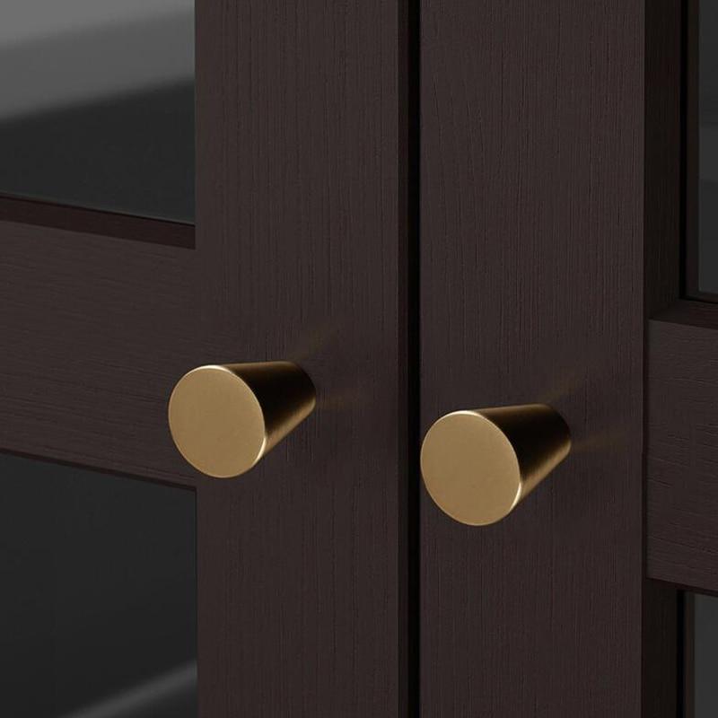 Alloy Pull Knob Drawer Closet Cabinet Kitchen Wardrobe Cupboard DIY Handles Apt