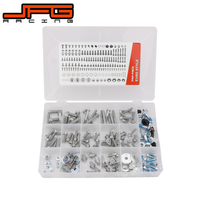 Motorcycle Stainless Steel 160 PCS Accessories Full Fastener Kit Bolt Screw Set For KTM SX SXF EXC EXCF 125 530 2003 2018