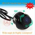 Бесплатная доставка 360 градусов широкий угол обзора Заднего Вида Обратный Резервную Камеру Парковка Водонепроницаемый HD Камера Оптовая