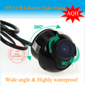 Free shipping 360  degree wide viewing angle Car Rear View Reverse Camera  Backup Parking Waterproof HD CCD  Camera Wholesale