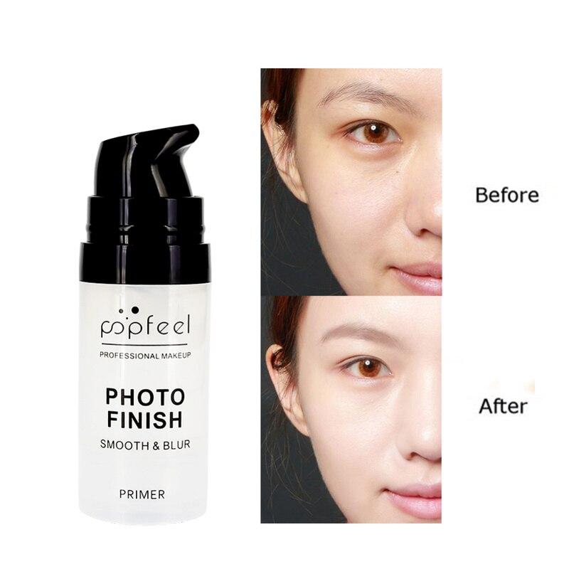 Hot! Long Lasting Makeup Professional Cosmetic Foundation New Makeup Primer Natural Blur Soft Primer Gel Smooth Texture  TSLM1
