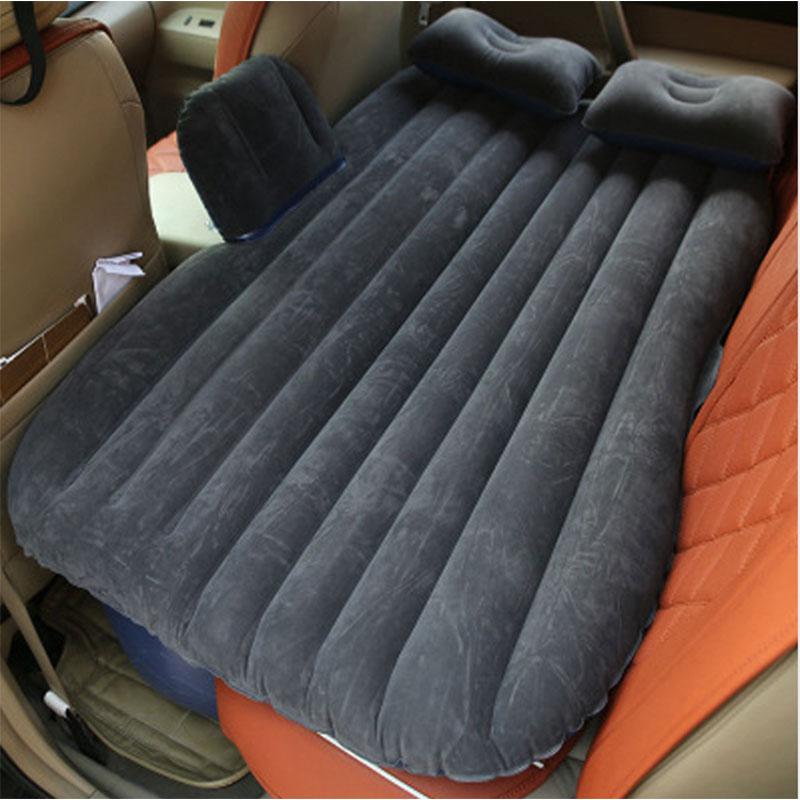 High quality Auto Accessories inflatable mattress Car Bed +Air Pump+Pillow car inflatable travel bed car bed car travel high quality oxford cloth car travel inflatable bed automotive air mattress camping mat with air pump