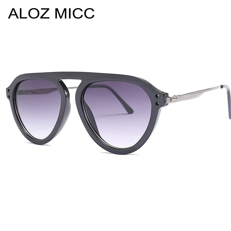 Women's Glasses Aloz Micc Fashion Women Cat Eye Sunglasses Men 2019 Brand Designer Vintage Gradient Sunglasses Women Luxury Goggle Eyewear Q229 We Have Won Praise From Customers