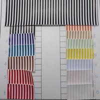 91x134cm Printed Stripes Leather, Synthetic Leather Fabric Faux Leather for Bows DIY accessories P808