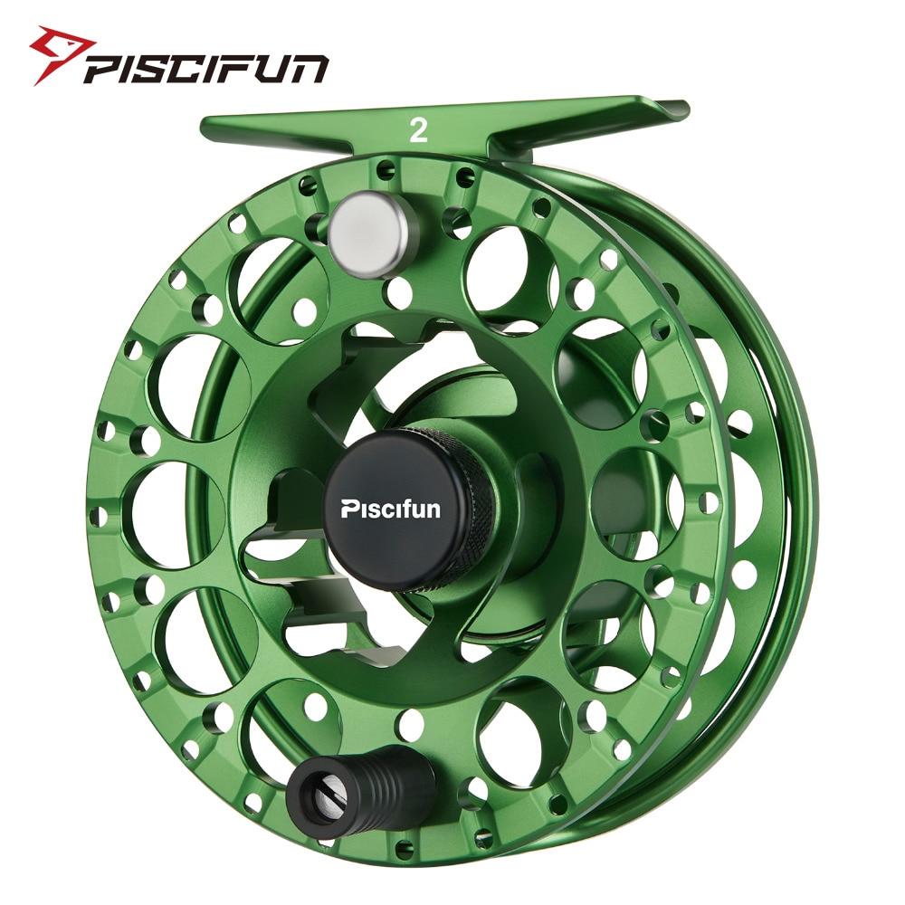 Piscifun Sword II Green Fly Reel 3 4 5 6 7 8 Sealed Drag Lighter CNC