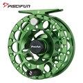 Piscifun Save II зеленая катушка для мухи 3/4 5/6 7/8  герметичная зажигалка с ЧПУ  алюминиевый сплав  праворукая  левая  ручная катушка для мухи