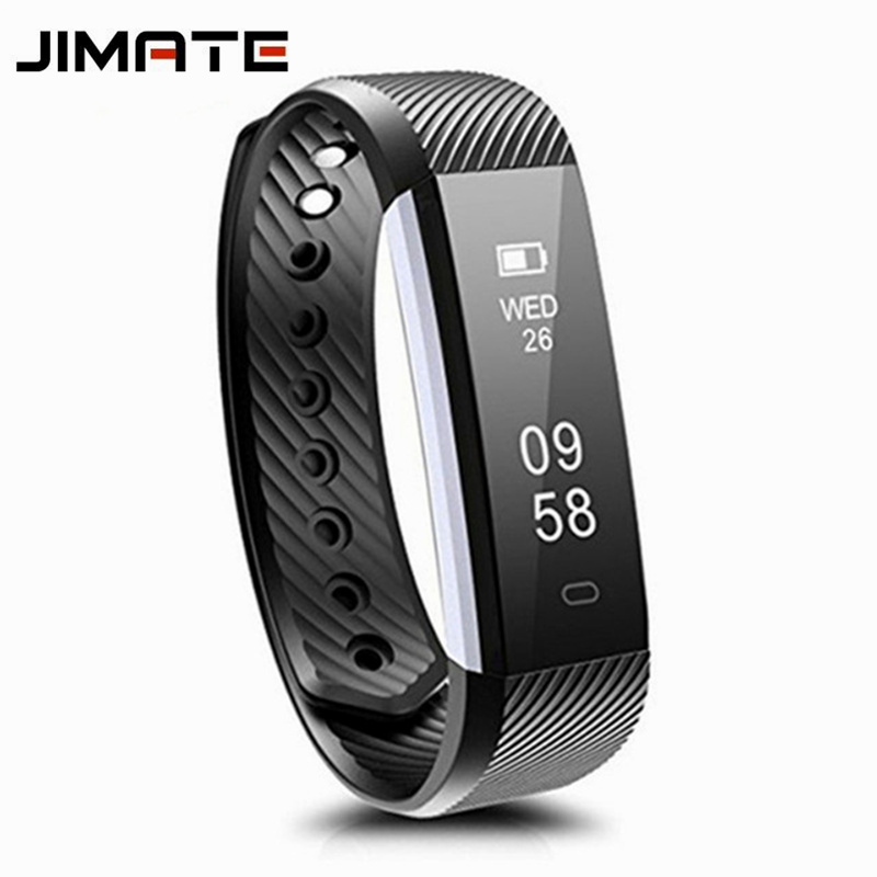 Efficient Id115 Hr Smart Bracelet Heart Rate Monitor Activity Tracker Smart Band Waterproof Wristbands For Ios Android Pk Id107 S2 M6 M7 Jade White