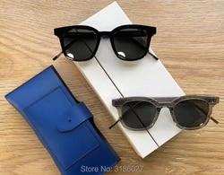 2018 mode Korea bibang Platz Vintage Sonnenbrille Dal see Retro Sonnenbrille Für Männer Frauen sanfte Marke V logo Designer
