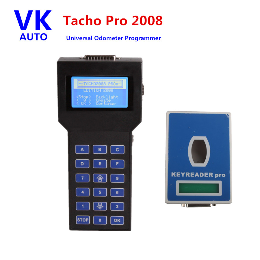 Tacho Pro Universal Odometer Correction Tool 2008 July Unlock Version With Six Languages Mileage Porgrammer Free Shipping