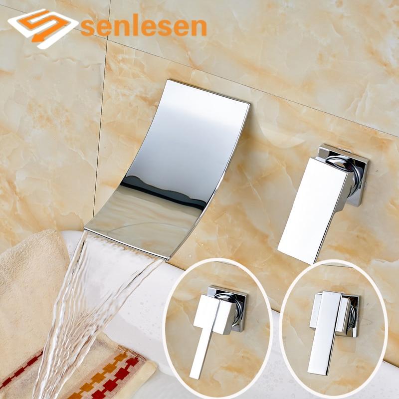 Chrome Finish Wall Mounted Washroom Countertop Mixer Faucet with Single Handle niko 50pcs chrome single coil pickup screws