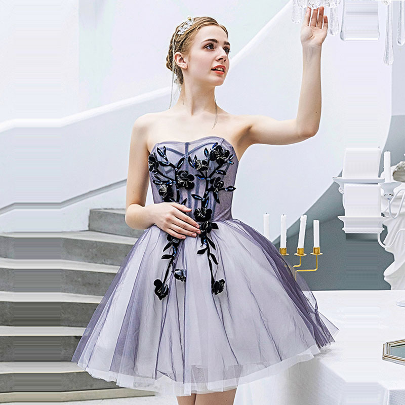 Cocktail Dress Sexy Wrapped Chest Mini Woman Party Dresses 2019 Sleeveless Plus Size Backless Slim Robe Cocktail Gowns E633